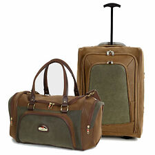 Lightweight Hand Carry On Cabin Luggage Bag Holdall Flight Travel Suitcase Set