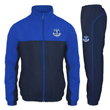 Everton FC Official Football Gift Mens Jacket & Pants Tracksuit Set