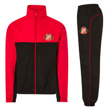 Sunderland AFC Official Football Gift Mens Jacket & Pants Tracksuit Set
