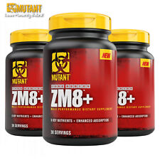 ZM8+ Testosterone Booster Magnesium Vitamin B6 Mineral Anabolic ZMA Supplement