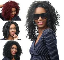 Long Curly Hair Wigs Hairpiece Shaggy Wig Synthetic Fiber Wigs & Lace Cap Q7X7