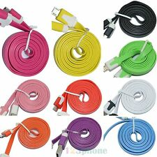 Wholesale Lot 2.0 USB Sync Charger Cable For Samsung Galaxy S7 S6 Edge S5 S4 S3