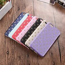 New Silk Pattern Golden Little Stars Starry Hard Back Phone Case Cover Protector
