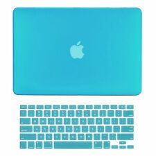 """JIESLINK Macbook Air 13"""" Rubberized Hard Case & Keyboard Cover for A1369 & A1466"""