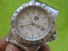 Rare Tag Heuer GMT Military Time Diver's Watch 159.006/1 with Box/Paper,Vintage!