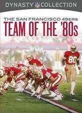 NFL Dynasty Collection: The San Francisco 49ers - Team of the '80s (DVD, 2012)