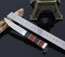 Outdoor Camping Fishing Military Stainless Steel Tactical Survival Knife+Shealth
