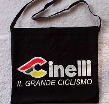 Cinelli Cycling Musette Bag - Black, White or Both!