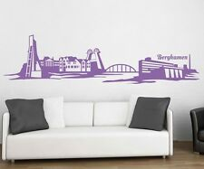 Wall Decal Skyline Bergkamen XXL Dortmund Wall Sticker Germany City 1M162