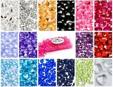 7000 Mixed Size WEDDING PARTY TABLE DIAMONDS CONFETTI SCATTER CRYSTALS