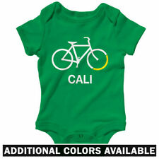 Bike California One Piece - Baby Infant Creeper Romper NB-24M - Bicycle Cycling