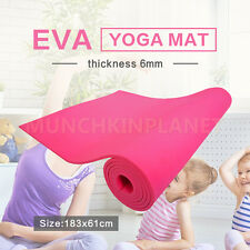Free Postage New 6MM 10MM NBR Thick Pilate Yoga Gym Mat Pad Non Slip Yoga mat