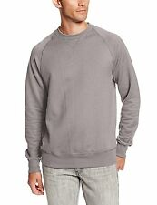 Hanes Men's Nano Premium Lightweight Fleece Sweatshirt, Vintage Gray, Medium