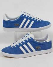 adidas Originals - Adidas Gazelle OG Trainers in Royal Blue & White - deadstock