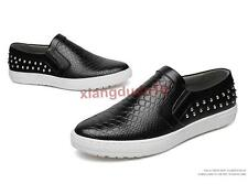 Mens Spring Fashion Casual Slip on Loafers Flats Sneakers Driving Moccasin Shoes