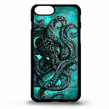 Octopus squid sailor sea creature tattoo tentacles out graphic phone case cover