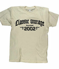 CLASSIC VINTAGE FOUNDED 2002 - Birthday T-shirt gift funny present born in fun