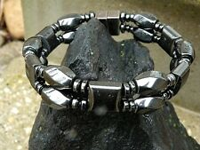 THERAPEUTIC Men' Womans CLASP 100% Magnetic Hematite BRACELET ANKLET QUICK SHIP