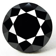 0.60 Cts. CERTIFIED Round Black AAA Quality Loose Natural Diamond Wholesale Lot