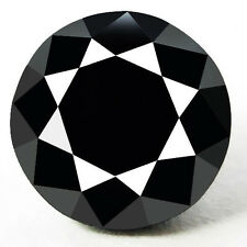 0.25 Cts. CERTIFIED Round Black AAA Quality Loose Natural Diamond Wholesale Lot