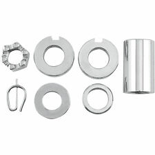 Colony Axle Spacer/Nut/Washer for Harley-Davidson DS190146 Rear Natural Chrome