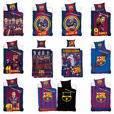 Football Bed Cover FC Barcelona Bed Linen Football FCB FC Barcelona Barca Messi