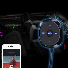 Bluetooth Car Kit Stereo Music Receiver MP3 Player Hands-free 3.5mm Aux Input IR