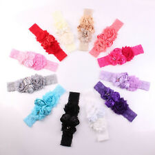 New Lace Baby Headband Chic Flower Princess Girls Headband Hair Accessories B0
