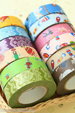 Classiky Cartoon Washi Tape set 2pc cute deco planner diary craft masking tapes