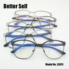 South Korean Style Eyeglasses Myopia Spectacles Frame Metal Men Women Optical