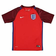 Nike England Away Jersey 2016 Juniors Boys Red Football Soccer Shirt Top