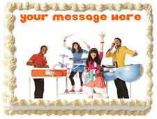 FRESH BEAT BAND Image Edible Cake topper Party decoration
