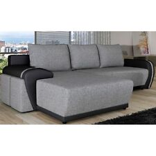 Corner Sofa Bed 4YOU Bargain with Storage Container and Sleep Function New