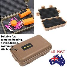Outdoor Plastic Waterproof Shockproof Storage Survival Container Carry Case Box@