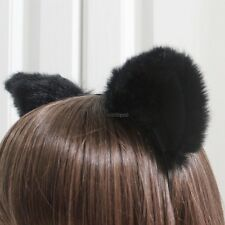Cute Cosplay Party Headband Orecchiette Cat Fox Long Fur Ears Anime WT8802