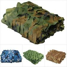 Woodland leaves Camouflage Camo Army Awning Net Netting Camping Military Hunting