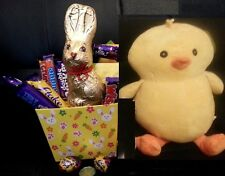 Cadbury Easter Chocolate Gift Hamper Basket Giant Plush Toy Easter Eggs Bunny