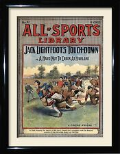 Vintage American football Posters and framed pictures