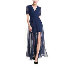 Casual Women Evening Formal Party Long Chiffon Ball Gown Prom Bridesmaid Dress