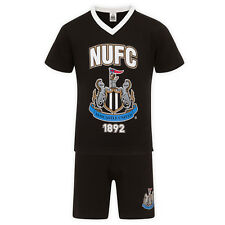 Newcastle United FC Official Football Gift Boys Short Pyjamas