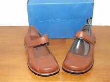 Hush Puppies Yoga Brown Leather Dress Shoe