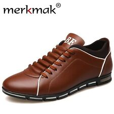Luxury Brand Men Shoes England Trend Casual Leisure Shoes Leather Shoes Breathab