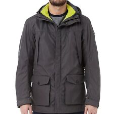 Duck and Cover Mens Journalist Jacket Coal RRP £185