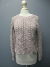 AUTUMN CASHMERE Light Purple Long Sleeve Crew Neck Casual Sweater Sz M B3674