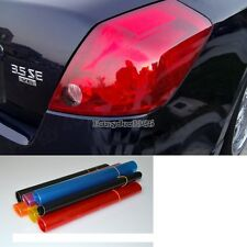 "Car Auto HeadLight Smoke Fog Taillight Tint Vinyl Film Car Light 12"" x ED"