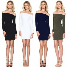 Sexy Womens Bodycon One Shoulder Dress Ladies Party Cocktail Evening Mini Dress