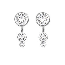 Slake Dot Princess Earring Jackets Made with Swarovski® Crystals