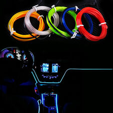 Clorful Car 12V EL-Wire Flexible Interior Fluorescent Neon Strip Cold light Tape