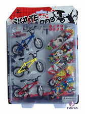 Gift Mountain Finger Bike Fixie BMX Bicycle Boy Toy DIY Creative Game skateboard
