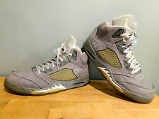 "Men's Nike Air Jordan Retro 5 V ""Wolf Grey"" 136027-005 Sz 12 Supreme XI Toro QS"